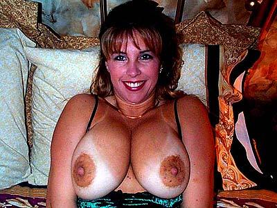 Dicken Titten mit grossen Brustwarzen