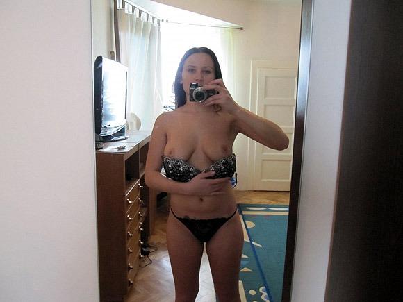 Sexy Self Shots junge Amateurin nackt